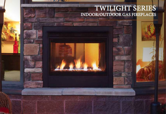 Patio Shop - Fireplace Center | Fireplaces | Heatilator | Twilight Modern Vent Outdoor Gas Fireplace