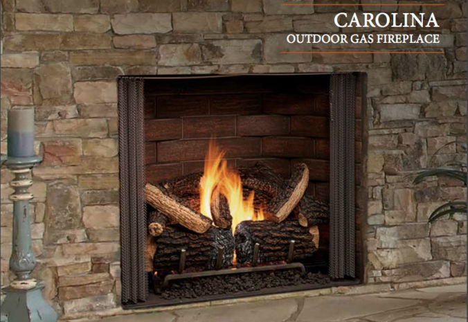 Patio Shop - Fireplace Center | Fireplaces | Heatilator | Carolina Outdoor Gas Fireplace