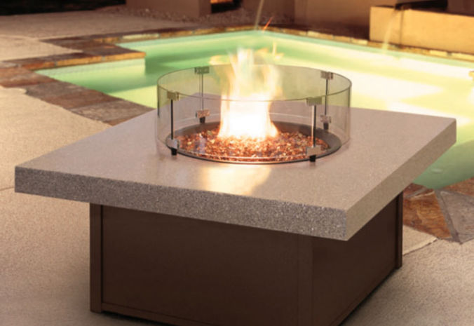 Patio Shop - Fireplace Center | Patio Accessories | Firepits | Homecrest Fire Table Accessories