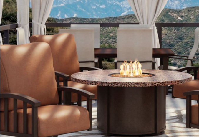 Patio Shop - Fireplace Center | Patio Accessories | Firepits | Homecrest Valero Fire Tables