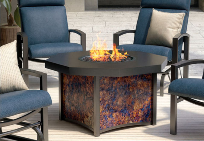 Patio Shop - Fireplace Center | Patio Accessories | Firepits | Homecrest Lunar Fire Tables