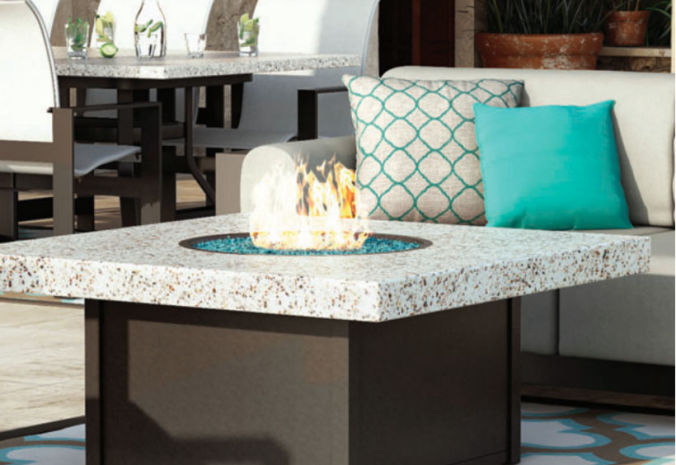 Patio Shop - Fireplace Center | Patio Accessories | Firepits | Homecrest Firepits & Fire Table Collections