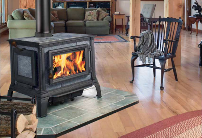 Patio Shop - Fireplace Center | Fireplaces | Hearthstone Tribute Soapstone Wood Stove