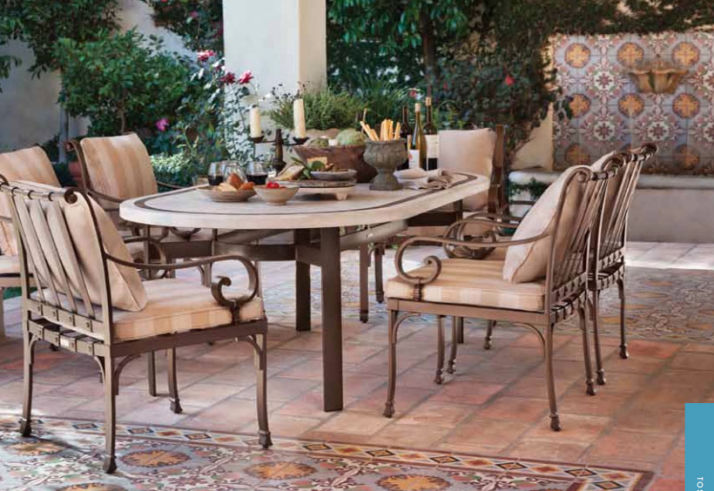 Brown Jordan Cushion Seating Collections Amarillo Patio Shop