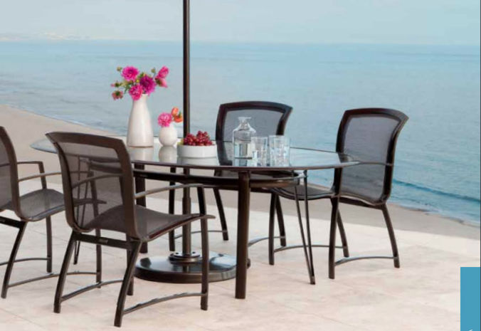 Patio Shop - Fireplace Center | Patio Furniture | Brown Jordan Patio Table Collections | Wave