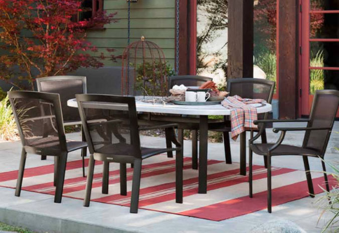 Patio Shop - Fireplace Center | Patio Furniture | Brown Jordan Patio Table Collections | Coast Parabolic