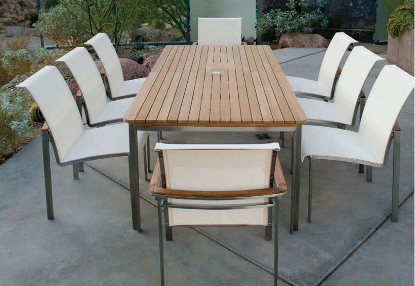 Patio Shop - Fireplace Center | Patio Furniture | Kingsley-Bate Patio Furniture | Seating Options Stainless & Aluminum