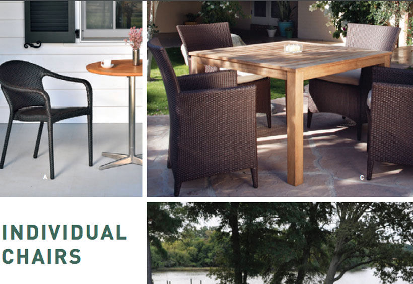 Patio Shop - Fireplace Center | Patio Furniture | Kingsley-Bate Patio Furniture | Seating Options Individual Chairs