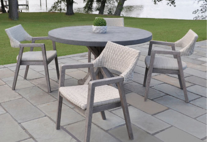 Patio Shop - Fireplace Center | Patio Furniture | Kingsley-Bate Patio Furniture | Seating Options Woven