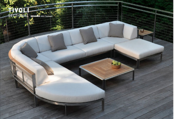 Patio Shop - Fireplace Center | Patio Furniture | Kingsley-Bate Patio Furniture | Seating Options Tivoli Sectional