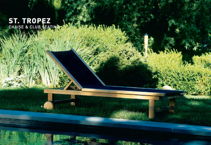 Patio Shop - Fireplace Center | Patio Furniture | Kingsley-Bate Patio Furniture | Seating Options St. Tropez Chaise