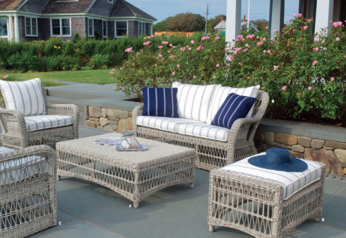 South Hampton Chaise Patio Fireplace Center Furniture Kingsley Bate Seating
