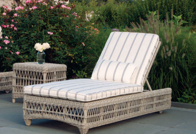 Patio Shop - Fireplace Center | Patio Furniture | Kingsley-Bate Patio Furniture | Seating Options South Hampton Chaise