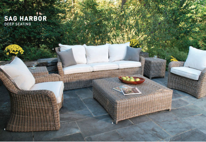 Patio Shop - Fireplace Center | Patio Furniture | Kingsley-Bate Patio Furniture | Seating Options Sag Harbor Deep
