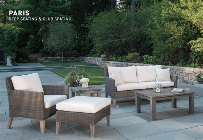 Patio Shop - Fireplace Center | Patio Furniture | Kingsley-Bate Patio Furniture | Seating Options Paris