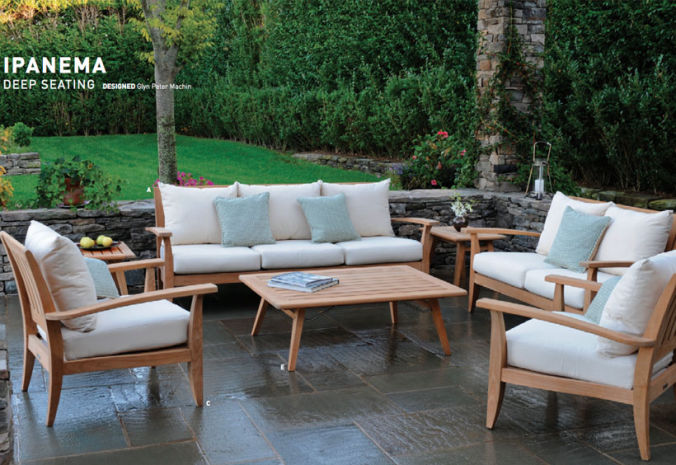 Patio Shop - Fireplace Center | Patio Furniture | Kingsley-Bate Patio Furniture | Seating Options Ipanema Deep