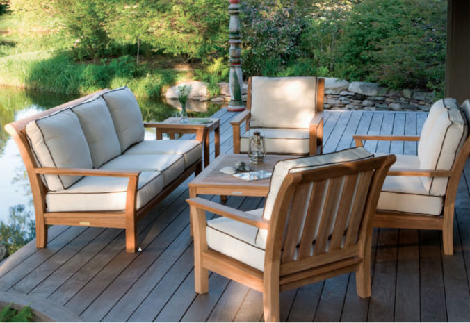 Patio Shop - Fireplace Center | Patio Furniture | Kingsley-Bate Patio Furniture | Seating Options Chelsea Deep