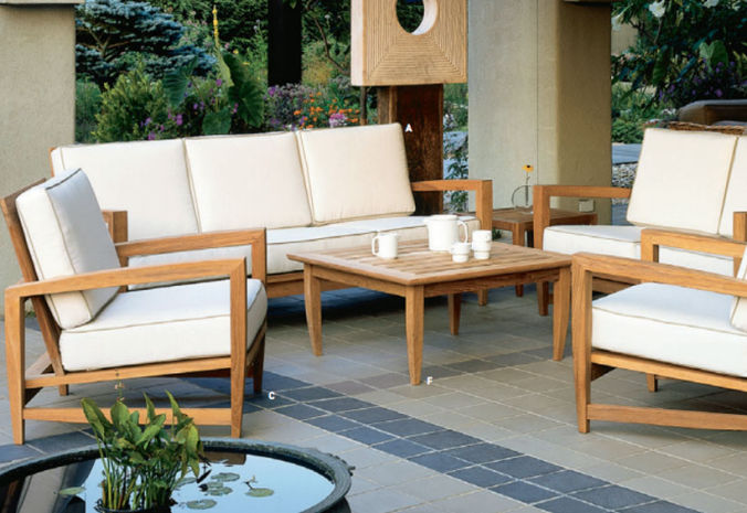 Patio Shop - Fireplace Center | Patio Furniture | Kingsley-Bate Patio Furniture | Seating Options Amalfi Deep