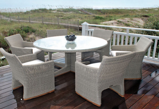 Patio Shop - Fireplace Center | Patio Furniture | Kingsley-Bate Patio Furniture | Dining Sets Westport
