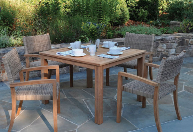 Patio Shop - Fireplace Center | Patio Furniture | Kingsley-Bate Patio Furniture | Dining Sets Venice
