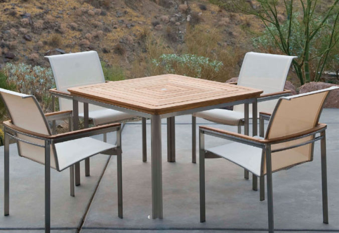 Patio Shop - Fireplace Center | Patio Furniture | Kingsley-Bate Patio Furniture | Dining Sets Tivoli Dining