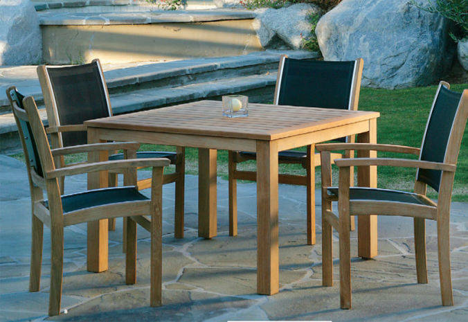Patio Shop - Fireplace Center | Patio Furniture | Kingsley-Bate Patio Furniture | Dining Sets St. Tropez