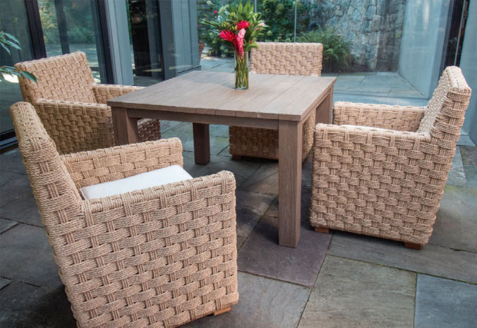 Patio Shop - Fireplace Center | Patio Furniture | Kingsley-Bate Patio Furniture | Dining Sets St. Barts