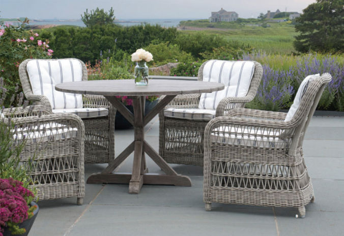 Patio Shop - Fireplace Center | Patio Furniture | Kingsley-Bate Patio Furniture | Dining Sets South Hampton