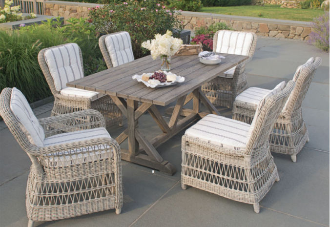 Patio Shop - Fireplace Center | Patio Furniture | Kingsley-Bate Patio Furniture | Dining Sets Provence