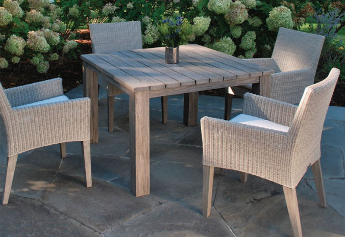 Patio Shop - Fireplace Center | Patio Furniture | Kingsley-Bate Patio Furniture | Dining Sets Paris