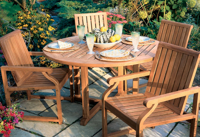 Patio Shop - Fireplace Center | Patio Furniture | Kingsley-Bate Patio Furniture | Dining Sets Nantucket
