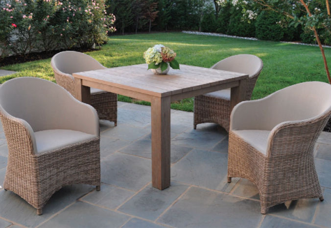 Patio Shop - Fireplace Center | Patio Furniture | Kingsley-Bate Patio Furniture | Dining Sets Milano