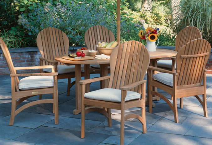 Patio Shop - Fireplace Center | Patio Furniture | Kingsley-Bate Patio Furniture | Dining Sets Hampton