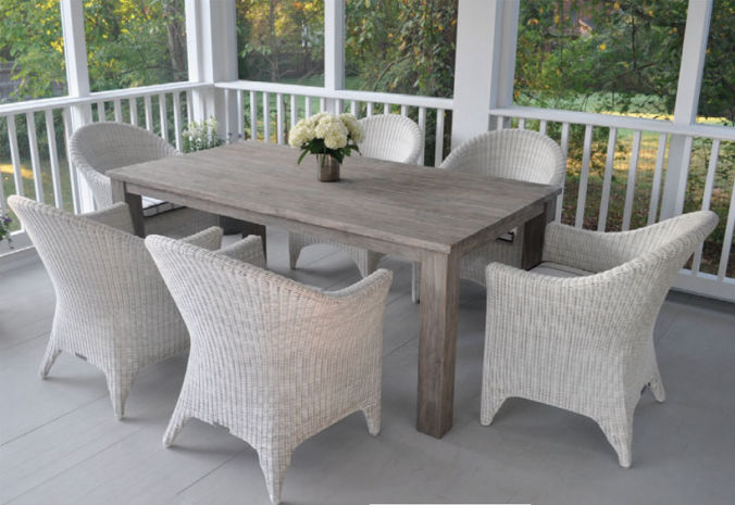 Patio Shop - Fireplace Center | Patio Furniture | Kingsley-Bate Patio Furniture | Dining Sets Cape Cod