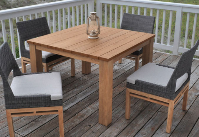 Patio Shop - Fireplace Center | Patio Furniture | Kingsley-Bate Patio Furniture | Dining Sets Azores