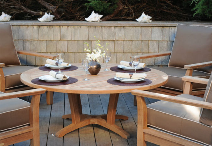 Patio Shop - Fireplace Center | Patio Furniture | Kingsley-Bate Patio Furniture | Dining Sets Specialty Tables