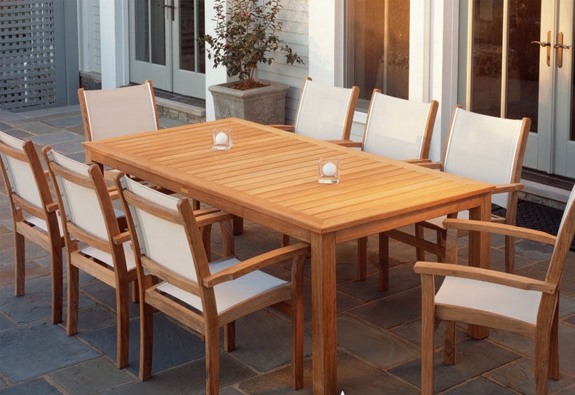 Patio Shop - Fireplace Center | Patio Furniture | Kingsley-Bate Patio Furniture | Tables Wainscott Tables