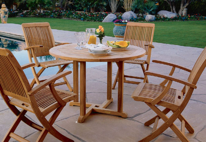 Patio Shop - Fireplace Center | Patio Furniture | Kingsley-Bate Patio Furniture | Tables Essex Dining and Occasional Tables