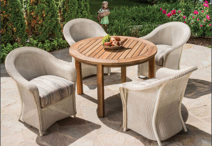 Patio Shop - Fireplace Center | Patio Furniture | Lloyd Flanders Patio Furniture | Dining Collections Reflections