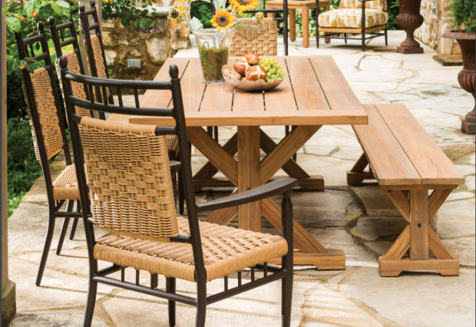 Patio Shop - Fireplace Center | Patio Furniture | Lloyd Flanders Patio Furniture | Dining Collections Low Country