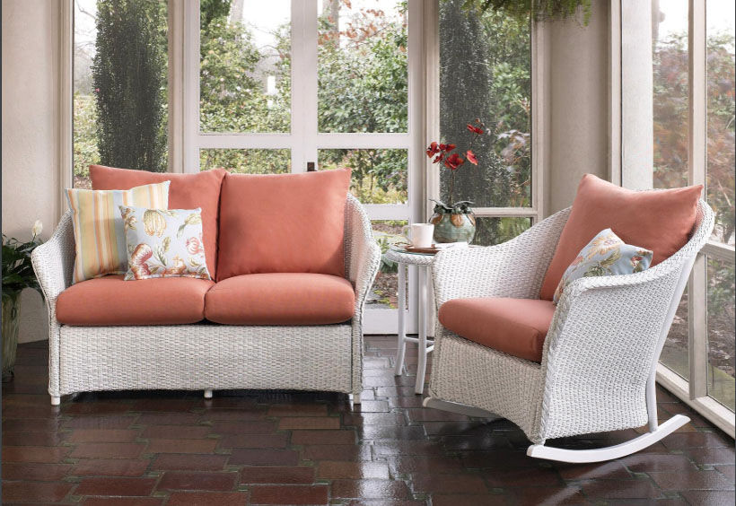 Patio Shop - Fireplace Center | Patio Furniture | Lloyd Flanders Patio Furniture | Seating Collections Weekend Retreat