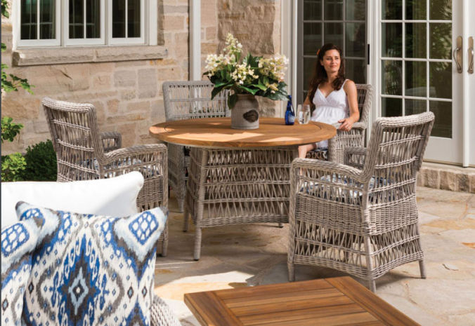 Patio Shop - Fireplace Center | Patio Furniture | Lloyd Flanders Patio Furniture | Seating Collections Mackinac