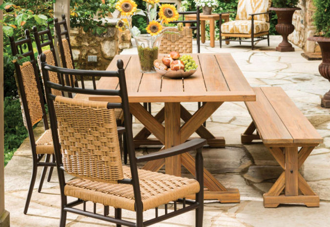 Patio Shop - Fireplace Center | Patio Furniture | Lloyd Flanders Patio Furniture | Seating Collections Low Country