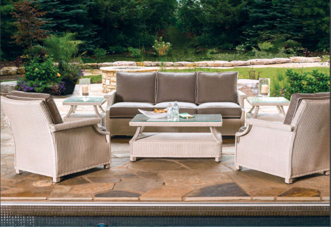 Patio Shop - Fireplace Center | Patio Furniture | Lloyd Flanders Patio Furniture | Seating Collections Hamptons