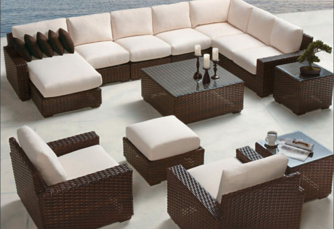 Patio Shop - Fireplace Center | Patio Furniture | Lloyd Flanders Patio Furniture | Seating Collections Contempo