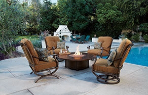 Patio Shop - Fireplace Center | Patio Furniture | O.W.Lee Patio Furniture | O.W.Lee Luna Patio Collection