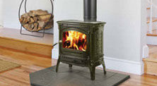 Patio Shop - Fireplace Center | Fireplaces | Hearthstone Craftsbusry Cast-Iron Wood Stove