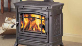 Patio Shop - Fireplace Center | Hearthstone Fireplaces | Shelburne Cast-Iron Wood Stove