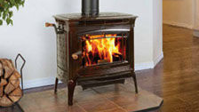 Patio Shop - Fireplace Center | Hearthstone Fireplaces | Manchester Cast-Iron Wood Stove