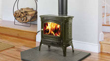 Patio Shop - Fireplace Center | Hearthstone Fireplaces | Craftsbury Cast-Iron Wood Stove